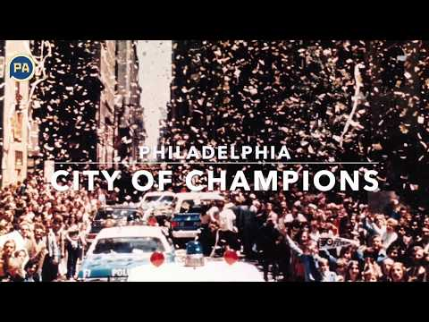 Philadelphia sports celebrations attract millions, vintage photos