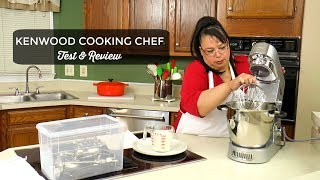 Kenwood Cooking Chef Stand Mixer Review ~ Kenwood Chef Major KM080AT ~Amy Learns to Cook