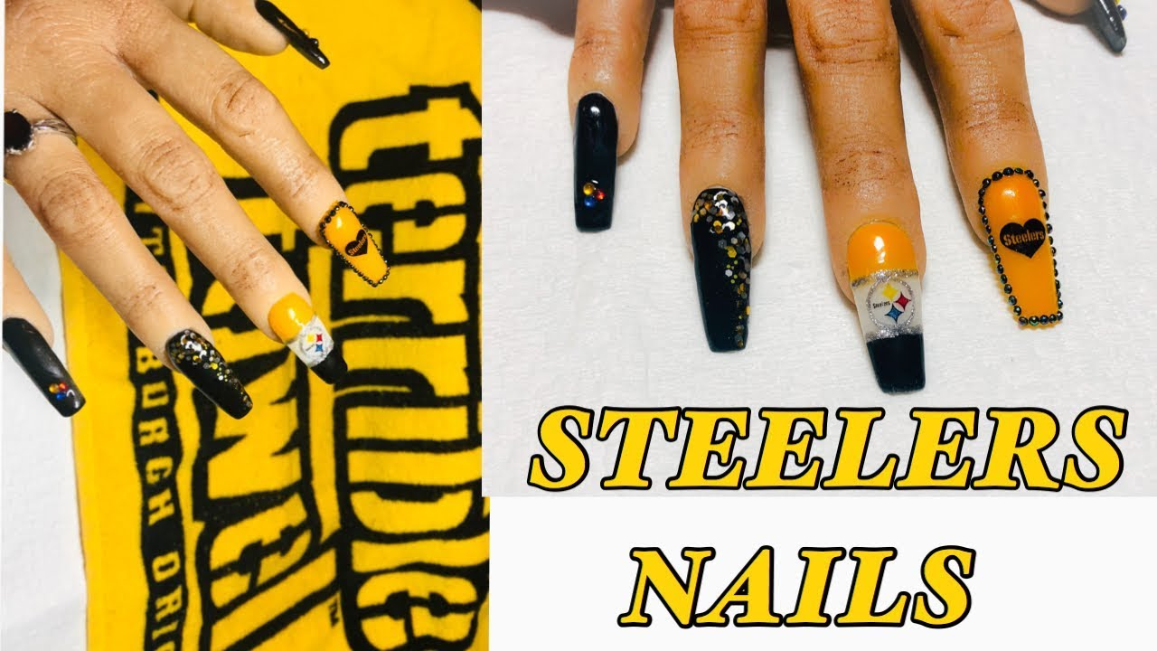 Steeler Nails 1 2 1 Youtube,Jewellery Designing App