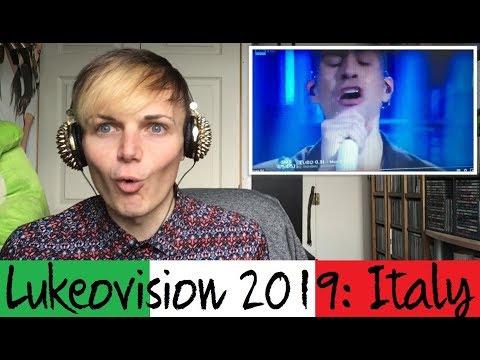 Lukeovision // Italy // Mahmood Soldi// REACTION