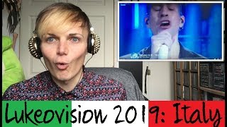 Lukeovision // Italy // Mahmood Soldi// REACTION