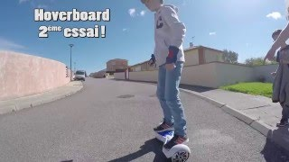 Test Hoverboard et Steadycam G4 Feiyu tech
