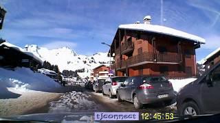 Sur  la route des Alpes Hte Savoie deTaninge au Praz De Lys