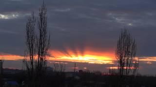 Доброе утро, всех с 1 -м Декабрем!!!!!! Рассвет))
