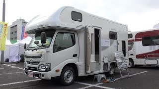 【4K動画】【2017年最新型】キャンピングカー(普通車)トヨタカムロードWOHN(ヴォーン)車中泊(オートキャンプ)JAPAN CAMPING CAR SHOW
