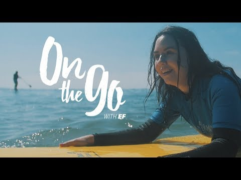 On the go with EF #55 – Angelina goes surfing in San Diego