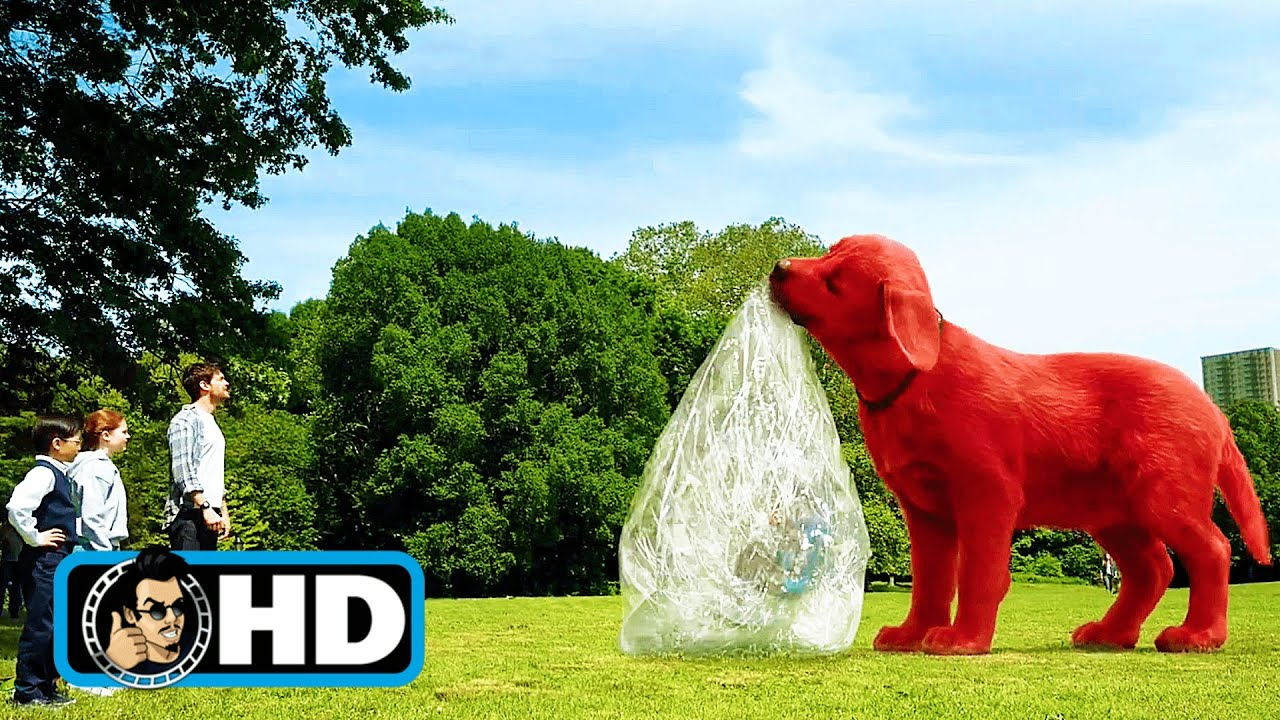 """CLIFFORD THE BIG RED DOG Clip - """"Clifford Plays Catch"""" (2021)"""