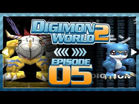 Digimon World 2 - Episode 5 : BIOS Domain + Getting MetalGreymon & Veemon!