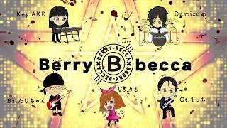 RebeccaコピーバンドBerry-beccaさんのメンバー紹介アニメーションを制...