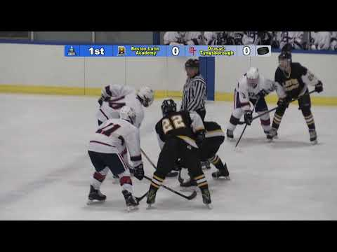 Hockey vs. Boston Latin Academy 1-24-18