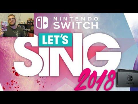 LET'S SING 2018 FOR NINTENDO SWITCH (Nintendo Switch's Only Karaoke Game!) [LTA Series]