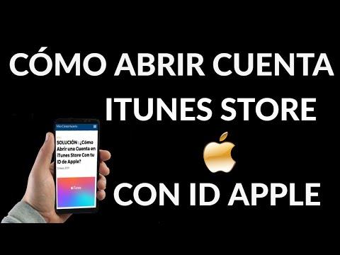 Cómo Abrir Cuenta en iTunes Store con ID de Apple