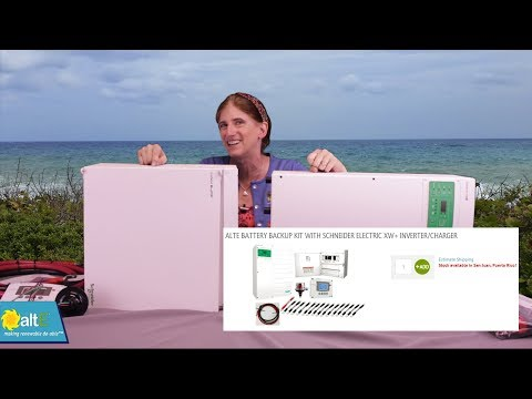 altE Store's Battery Backup Kits for Grid Tied Solar (Part 1 of 3)