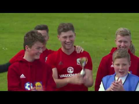 FAW Trust Video - Lidl Football Tennis launch