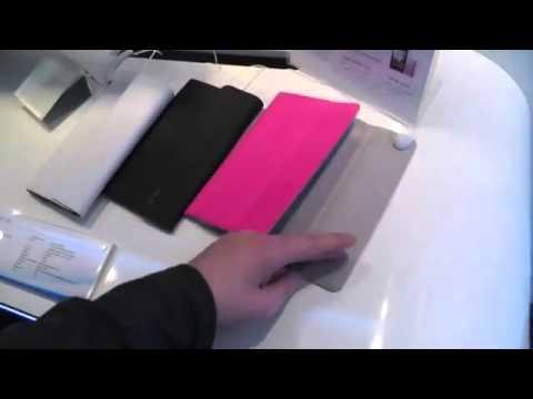 ASUS Fonepad Case Hülle auf dem MWC YouTube