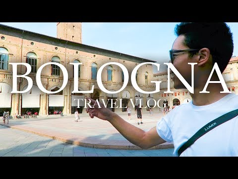 BOLOGNA Travel Vlog | It's That Time For