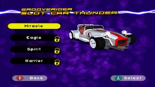 Grooverider: Slot Car Thunder (Gamecube) w/ Gizmo