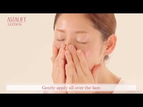 How to use: Step by step with ASTALIFT Anti-aging Range