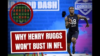 NFL Draft: Why Henry Ruggs Won't Go Bust (2020)