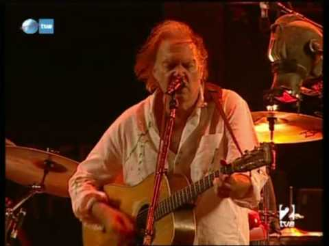 Neil Young - Old Man - Rock In Rio Madrid 2008 HQ