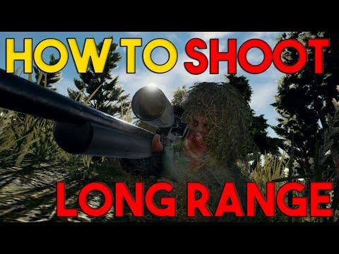 How to Aim Long Range   PlayerUnknown's Battlegrounds