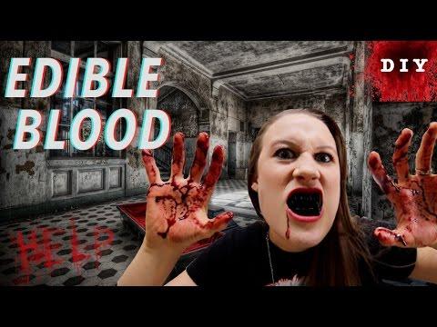How To Make Edible Candy Blood - Edible Makeup - Halloween ...