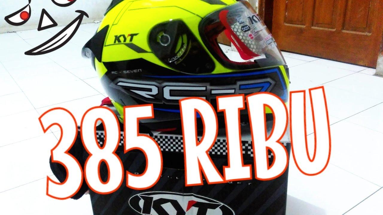 Unboxing Helm Fullface KYT RC 7 Belum Double Visor Gagal Beli INK CL MAX Gara2 Warna Valentino Rossi