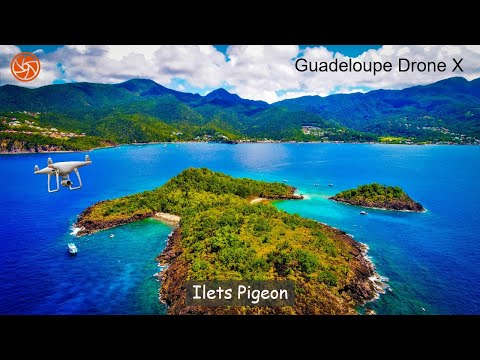 HD Drone Video | Îlets Pigeon, Guadeloupe
