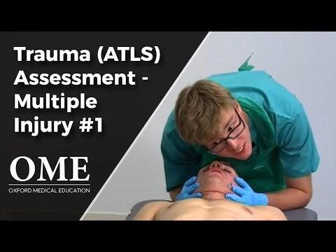 Trauma Assessment - Multiple Injuries (Part 1)