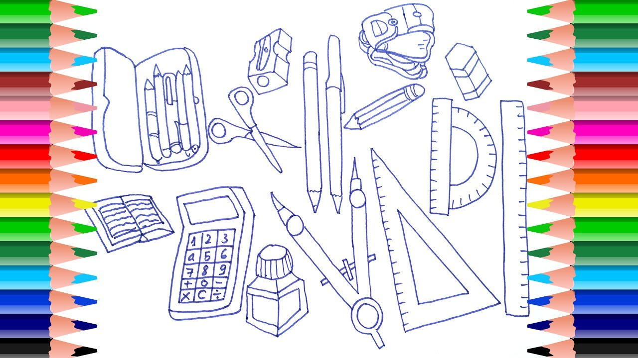 Back To School Coloring Page! | School coloring pages, Crayola ... | 720x1280