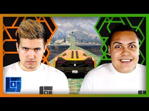 MessYourself vs MasterOv 1v1 GTA Race   Legends of Gaming