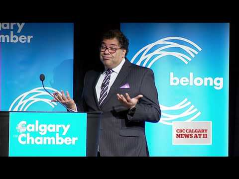 Calgary businesses concerned at prospect of higher taxes in 2016 (TV rant)