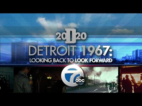 Detroit 2020 Town Hall: Remembering the events of Detroit 1967
