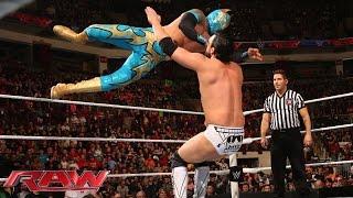 Sin Cara vs. Damien Mizdow: Raw, February 9, 2015