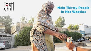 Download Video Very Hot Weather In Karachi (Pakistan) | Helping People | Just Chill | 2018 MP3 3GP MP4