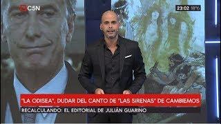 """Editorial de Julián Guarino en Recalculando 18/04/2019: """"La Odisea"""""""