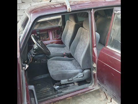 Замена сидений. Установка сидений в ВАЗ-2107 от MITSUBISHI LANCER VI
