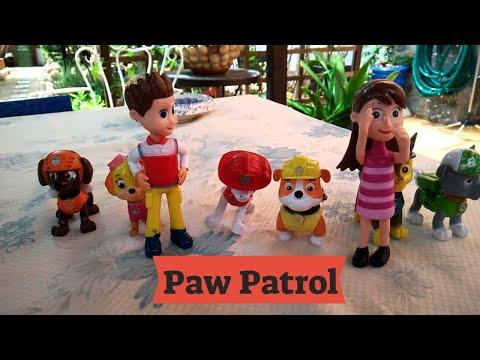 Patrulla canina paw patrol mu ecos cancion en espa ol voz - Munecos patrulla canina ...