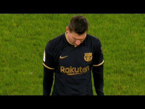 The Day Lionel Messi SUBBED OFF ! ?