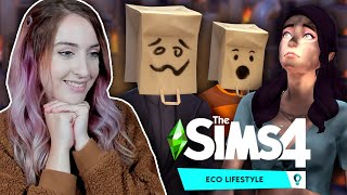 Using The Sims 4: Eco Lifestyle to cause a smog apocalypse