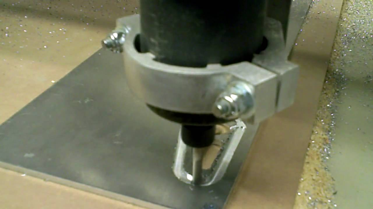Cutting Aluminum With A Router