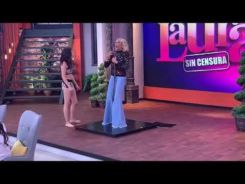 Laura Bozzo aprende a bailar tubo