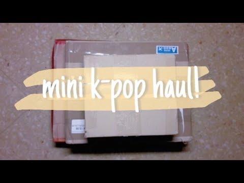 ✩ mini k-pop haul || unboxing JBJ , Astro , @SweeT_Basil fansite photobook