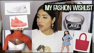 CURRENT FASHION WANTS || Neon, Spring Trends,  What to Buy to be Trendy