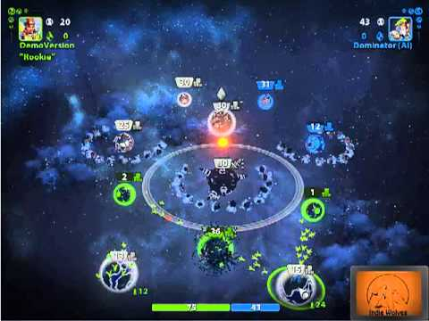 Planets Under Attack Gameplay by IndieWolves.com |
