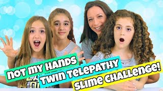 Not My Hands Twin Telepathy Slime Challenge!