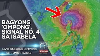 LIVE! BREAKING NEWS TODAY SEPTEMBER 15, 2018—BAGYONG 'OMPONG'
