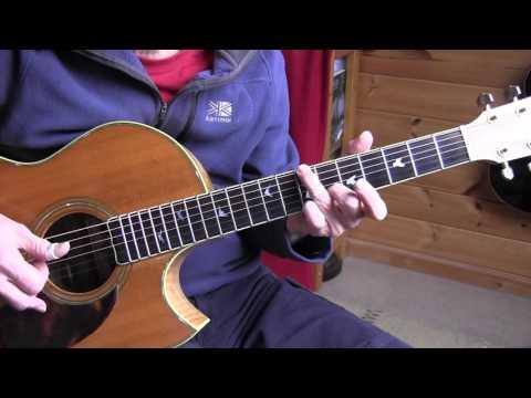 Ragtime Guitar Lesson - The Silver Swan - Scott Joplin -  Free TAB