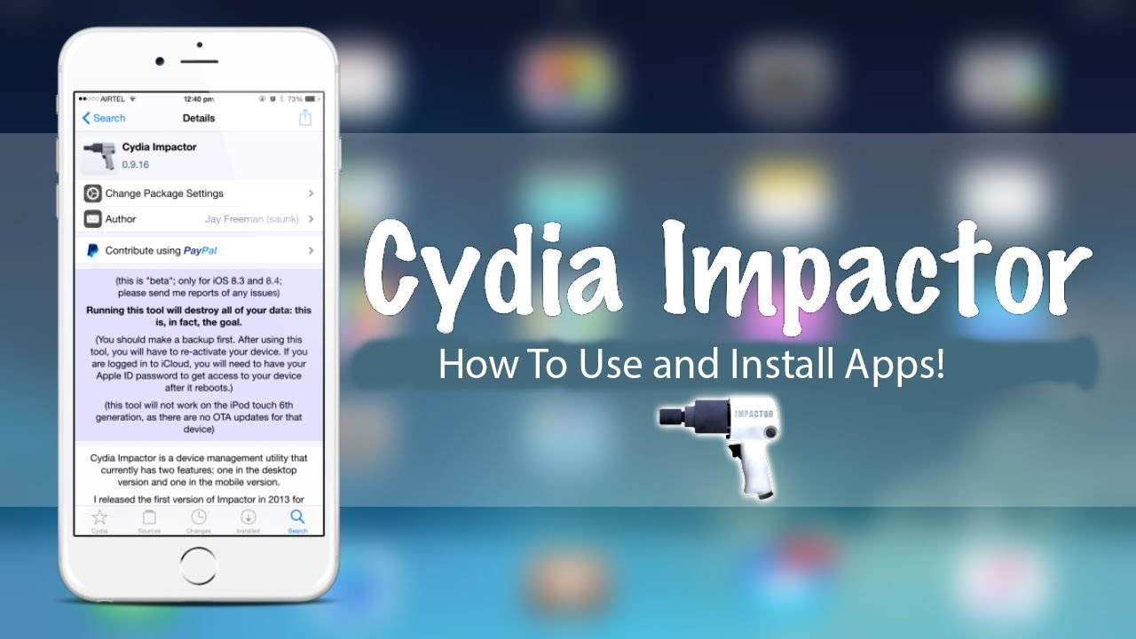 Image result for Cydia Impactor