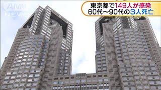 東京都で149人が感染 60代から90代の男女3人死亡(20/04/17)
